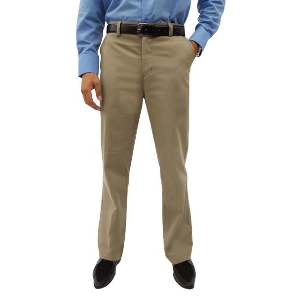 Calça Sportwear Masculina Brim Sem Prega