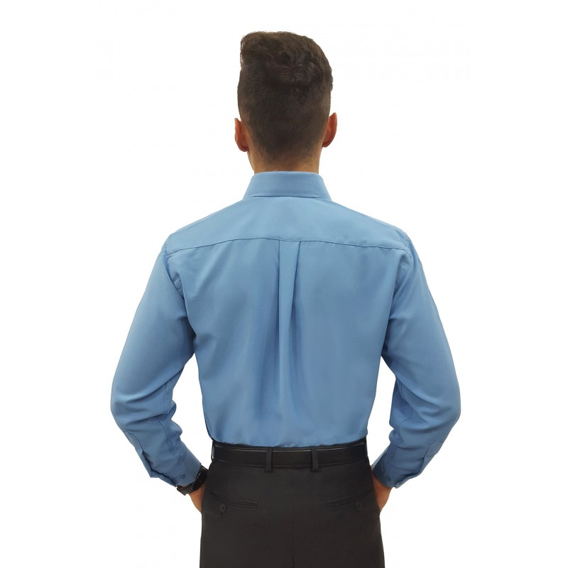 cb32331acf ... Cor  Azul Cor  Vermelho Cor  Vermelho. Camisa Social Masculina Manga  Longa 100% Poliéster ...