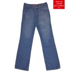 Calça Jeans Masculina Tradicional Boca Larga