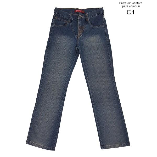 Calça Jeans Masculina Boy SLD J04