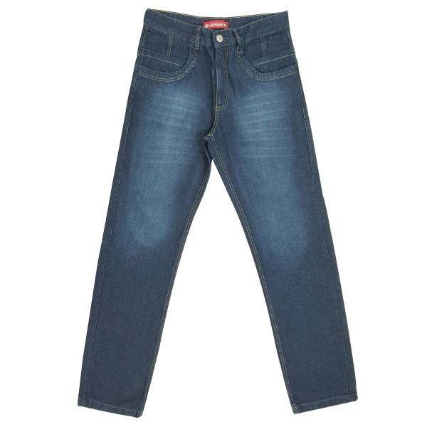 Calça Jeans Masculina Boy Bolso Frontal Baixo Detalhado
