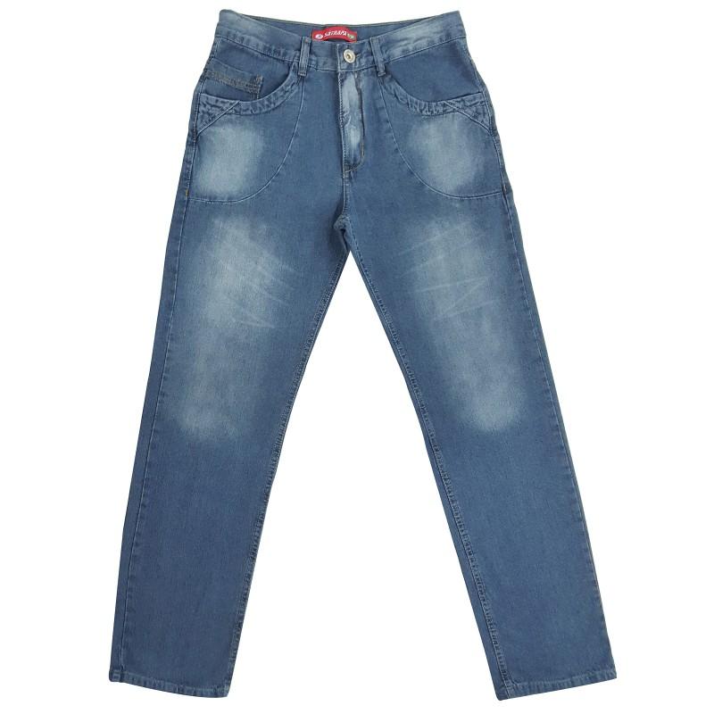 Calça Jeans Masculina Boy Bolso Chapado 5a2d7d1cacb