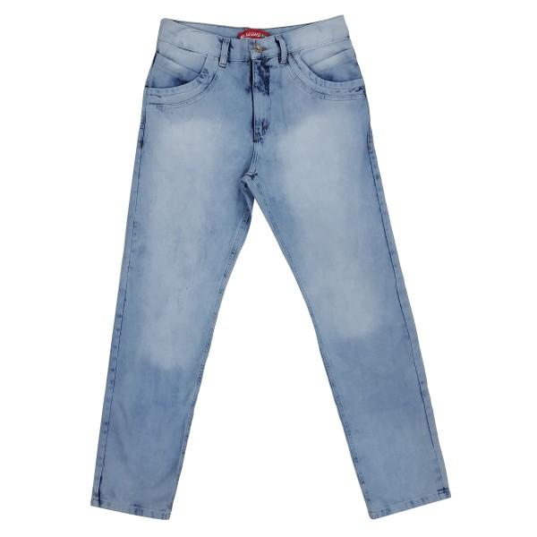 Calça Jeans Masculina Modinha Bolso Traseiro Detalhado