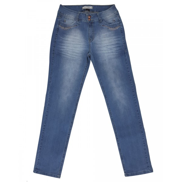 Calça Jeans Feminina Cintura Alta Upass Trancoso 2