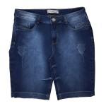 Bermuda Jeans Feminina Upass Moletom 1