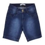 Bermuda Jeans Feminina Upass Moletom 2