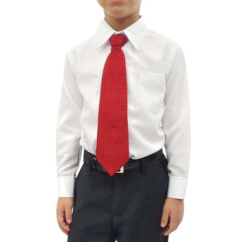 ad5774a4f Camisa Social Infantil Manga Longa