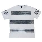 Camiseta Masculina Manga Curta Estampada Gola C. Plus Size