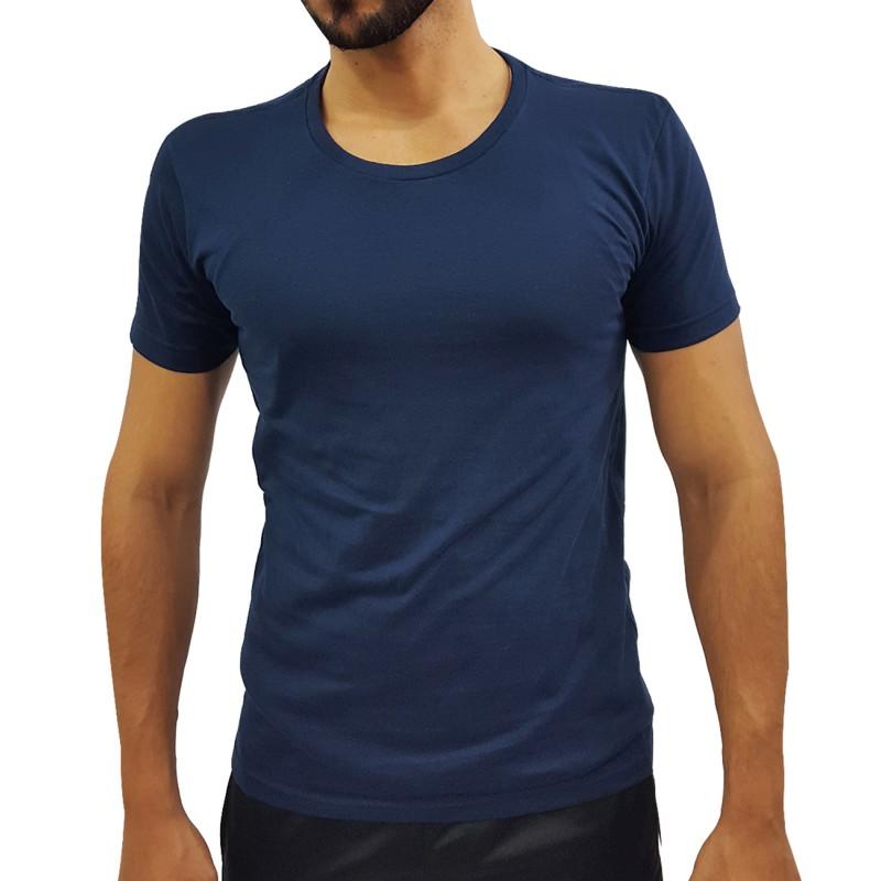 Camiseta Masculina Manga Curta Lisa Har 27b3143516b