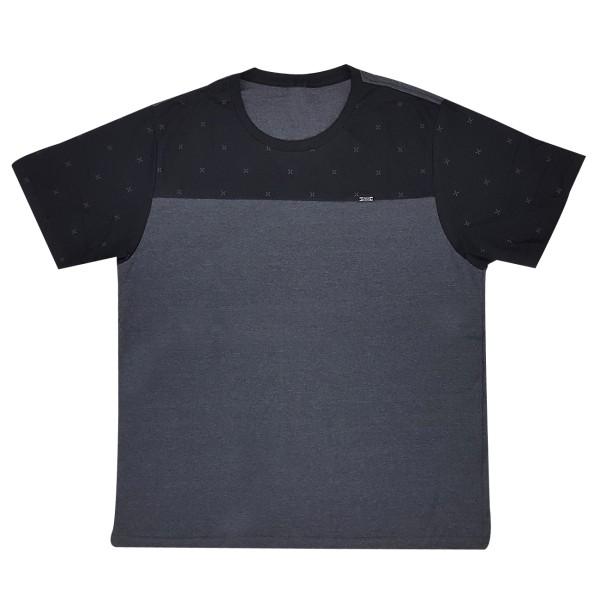 Camiseta Masculina Manga Curta Plus Size SBA