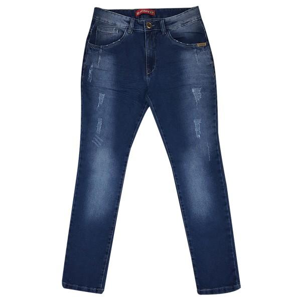 Calça Jeans Masculina Slim Lycra Premium