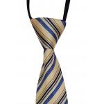 Gravata Adulto Estampada 1 Com Nó Pronto e Zíper